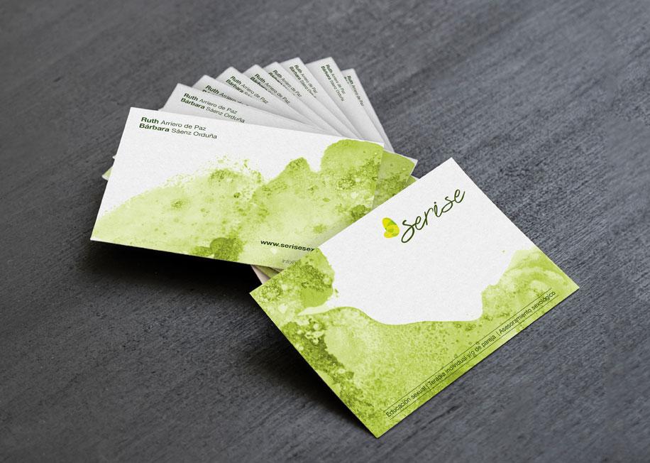 diseño grafico de imagen corporativa tarjetas de visitas