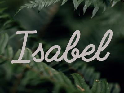 Protegido: ISABEL