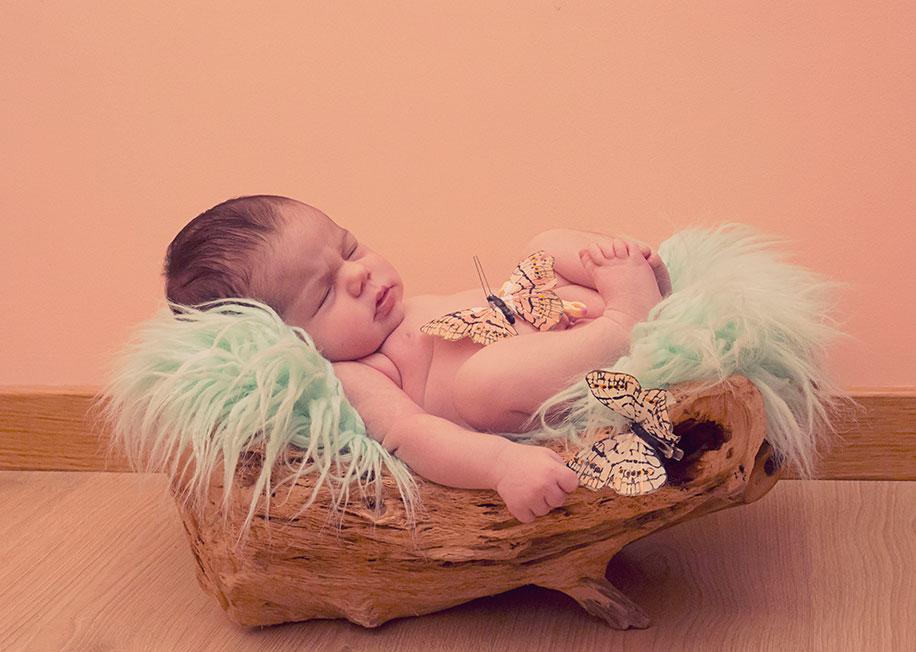 reportaje fotografico de newborn